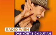 Plakatsujet Radio Wien