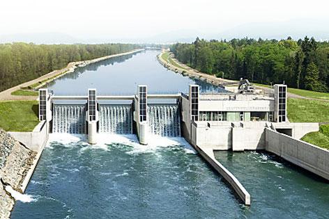 Wasserkraftwerk G�ssendorf