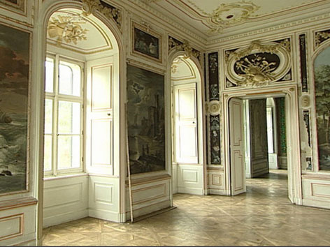 Schloss Pöckstein Prunkraum innen