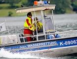 Einsatzboot der österreichischen Wasserrettung