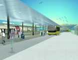 Neuer Bahnhof Hohenems MOdell