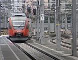 S-Bahn Zug Öffis Verkehr Gleise Bahn