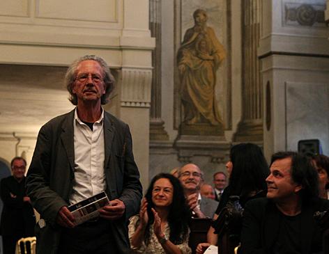 Lesung von Peter Handke in Wien