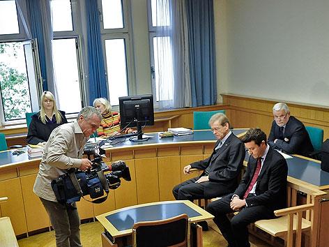 Prozess gegen Immobilieninvestor Rene Benko und Steuerberater Michael Passer
