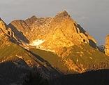 Steinernes Meer Persailhorn Breithorn Mitterhorn Sommerstein Saalfelden Steinalm Alpen Sonnenuntergang Alpenglühen
