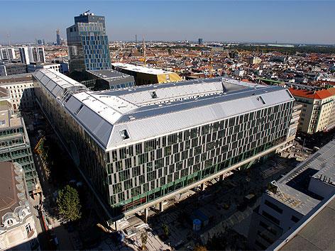 Bauprojekt Wien-Mitte eröffnet