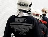 Feuerwehrmänner bei Einsatz