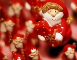 Weihnachtsmann als Baumbehang