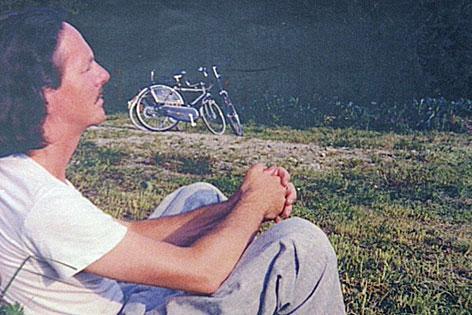 Peter Handke während seiner Jahre in Salzburg