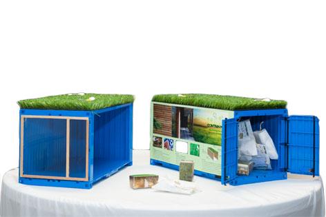 Steirer entwickelten haus aus containern steiermark for Haus aus container