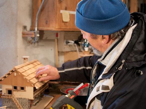 Eugenio Spangaro bauen Miniaturhaus