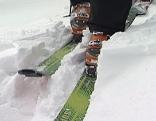 Tourengeher bei Skitour
