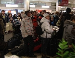 russen airport touristen jet flugzeug aeroflot