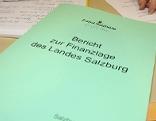 Bericht zur Finanzlage des Landes Salzburg vom 16. Jänner 2013
