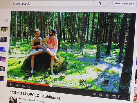 """King Leopold"" auf Youtube"