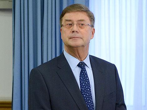 Ex-Immofinanz-Chef Karl Petrikovics vor dem Beginn des Prozesses im Wiener Landesgericht