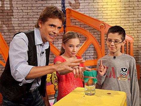 Thomas Brezina, Marie-Luise, Petar in der Trickfabrik
