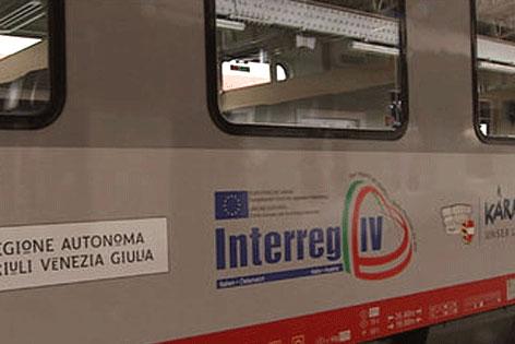EU4U Europe Micotra Zug Bahn Villach Udine