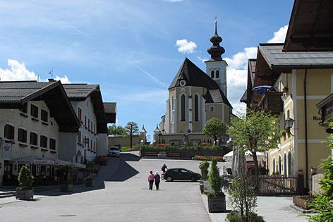 Der Marktplatz von St. Veit im Pongau