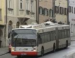 Obus, O-Bus Stadtbus Salzburg AG Bus Öffentlicher Verkehr