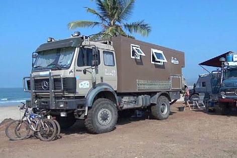 Indien LKW