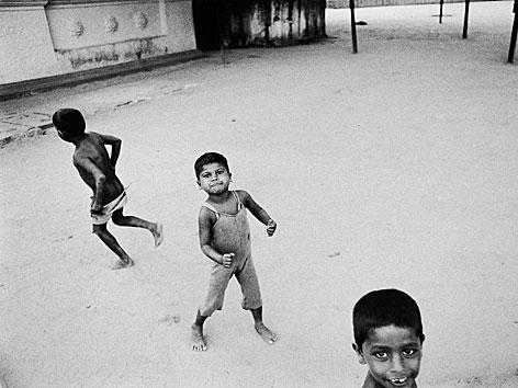 Kinder in Ceylon