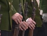 Schützen bei Schützenkompanie