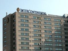 Das Hotel Intercontinental in Wien