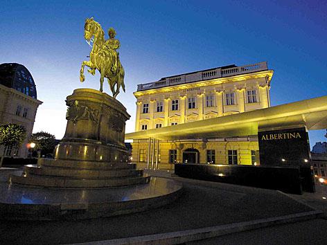 Die Albertina in Wien
