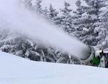 Beschneiung Schneekanone Lech