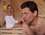 Franz Posch in der Sauna