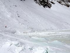 Lawine Toter Suchaktion Grünsee Weißsee Uttendorf Bergrettung Schnee