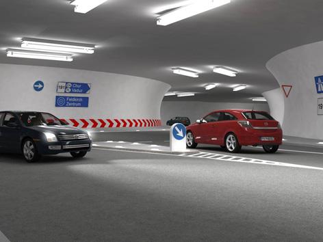Tunnelspinne Feldkirch Stadttunnel Feldkirch