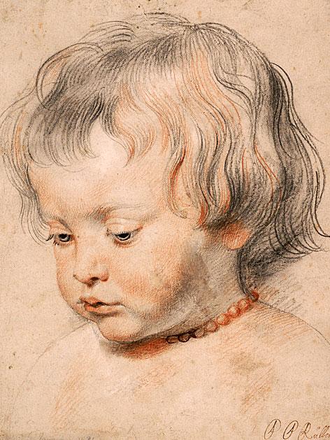 Peter Paul Rubens Nikolaus Rubens mit Korallenschnur, um 1619