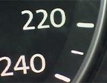 Tacho 220 240 km/h