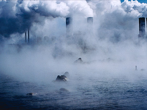 "Fotografie von Olafur Eliasson aus ""Island Series"""