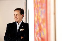 Florian Werner, Hotelier, Galerist, Kunsthalle Arlberg