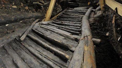 Die älteste Treppe Europas