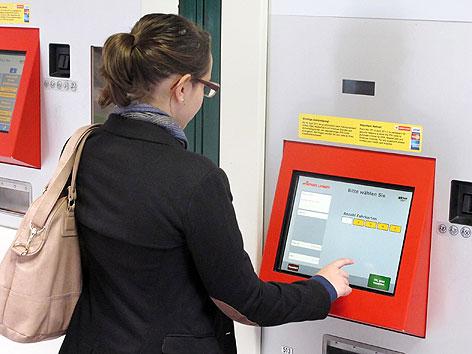Fahrscheinautomat der Wiener Linien