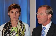 Astrid Rössler & Wilfried Haslauer
