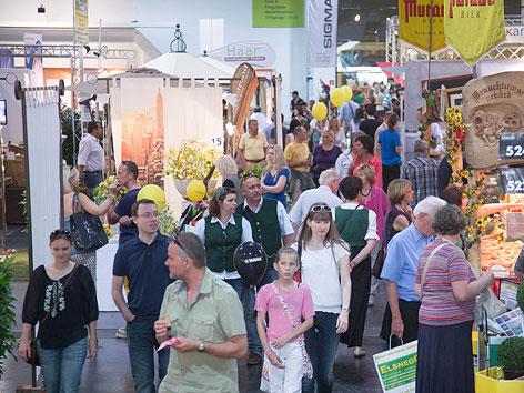 Besucher Frühjahresmesse