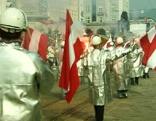 Maiaufmarsch in Linz