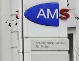 AMS St. Pölten Schild