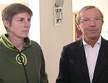 Wilfried Haslauer und Astrid Rössler
