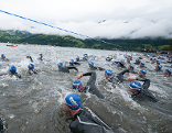 Ironman in Zell am See schwimmen Triathlon