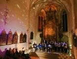 Gesang in einer Kirche