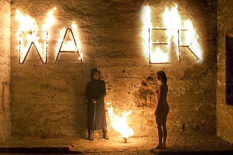 Mirkus Hahn als Richard Wagner und Elisabeth Lehmann als Cosima
