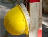Baustelle - Sicherheitshelm