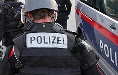 Polizist der Sondereinheit Cobra