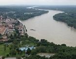 Die Donau bei Hainburg